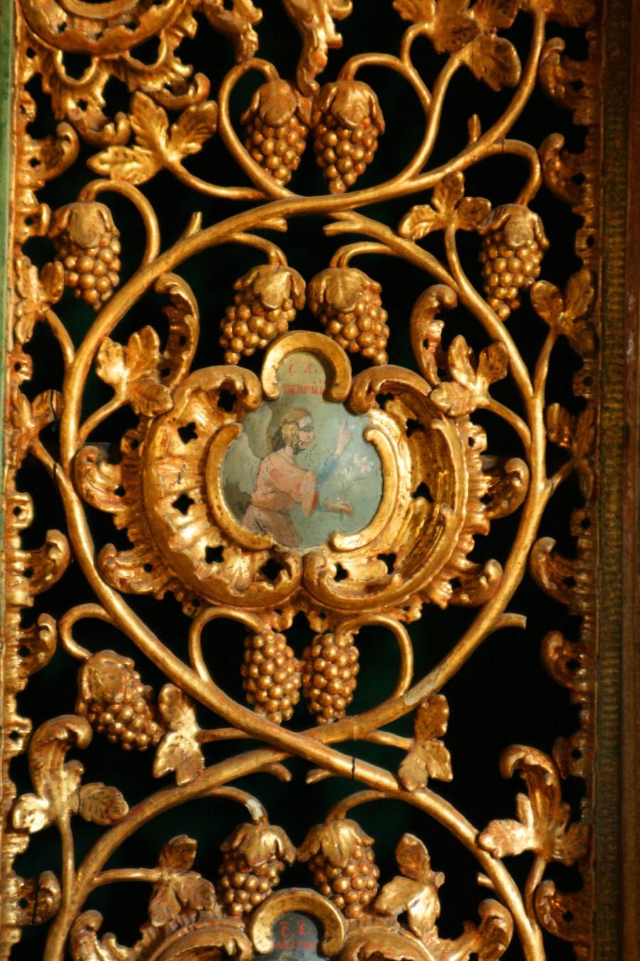 Detaliu uşă catapeteasmă
