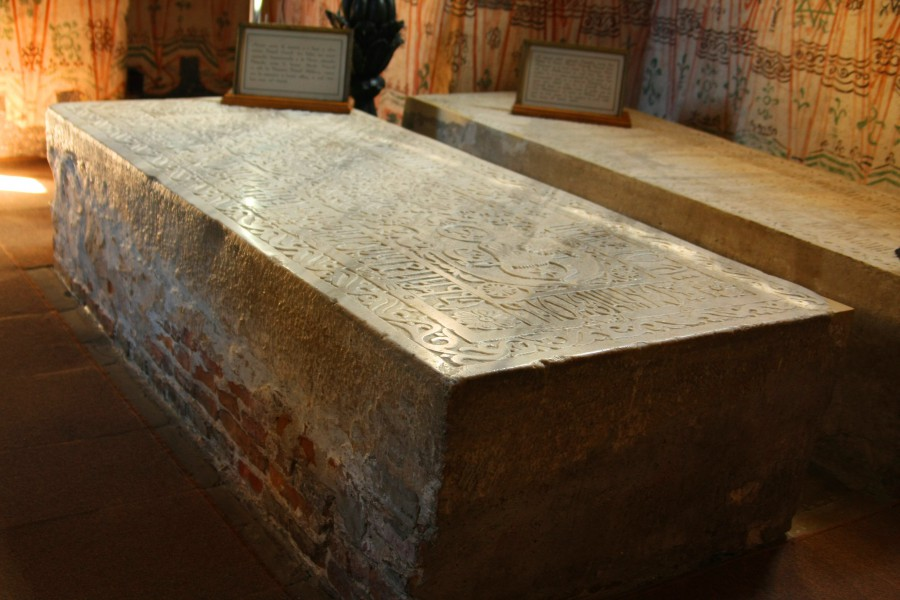 Pietre funerare Ieremia Movilă şi Simion Movilă